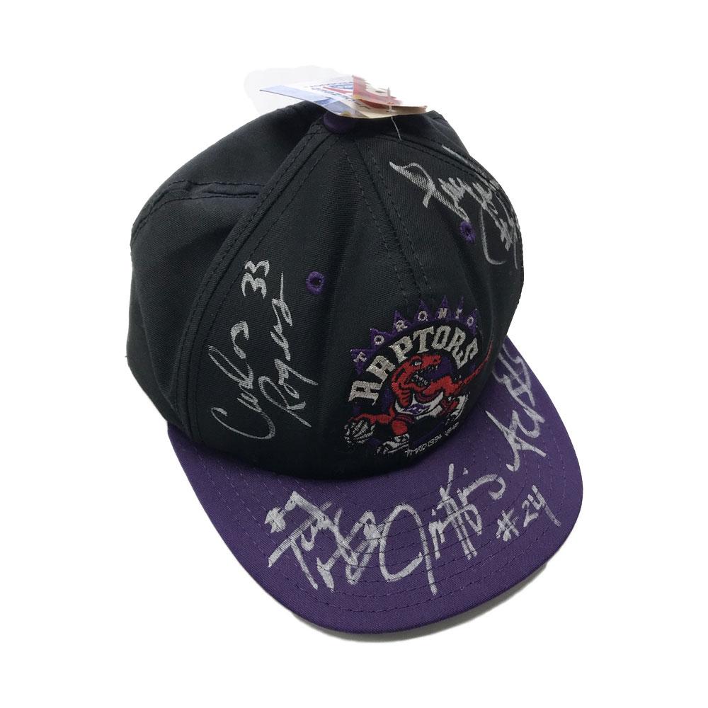316bd093c17 Toronto Raptors Autographed Hat 1995 Inaugural Season – Man Cave Store